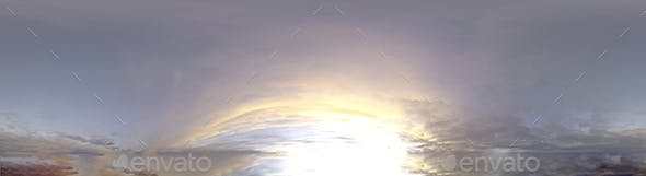 Skydome HDRI - Sunset Clouds - 3DOcean Item for Sale