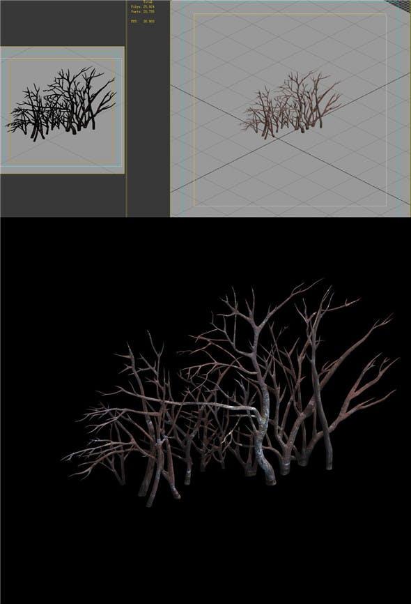 Game Model - snow - vegetation 01 - 3DOcean Item for Sale