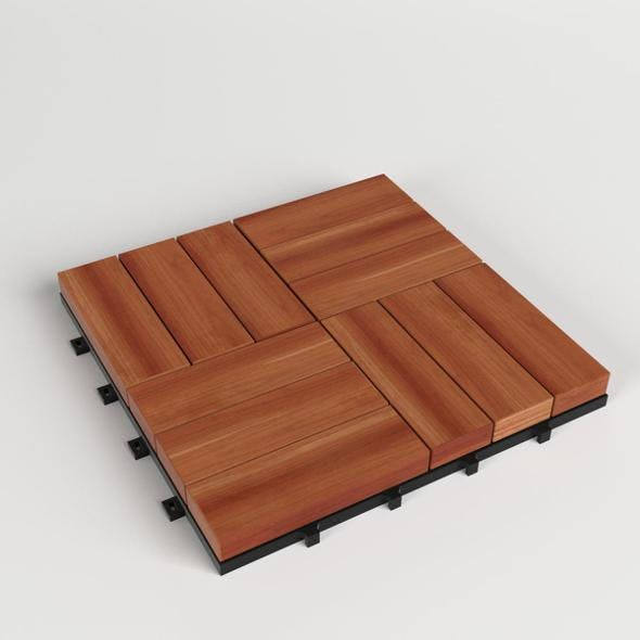 Floor Decking Tiles Set - 3DOcean Item for Sale