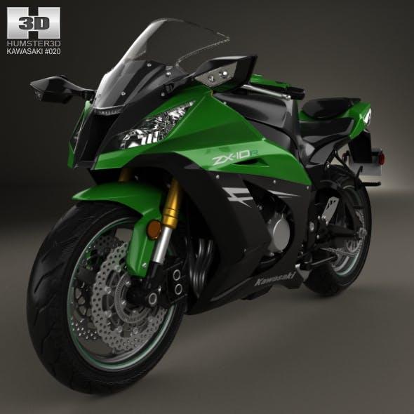 Kawasaki ZX-10R 2014 - 3DOcean Item for Sale
