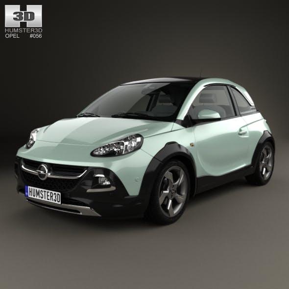 Opel Adam Rocks 2014