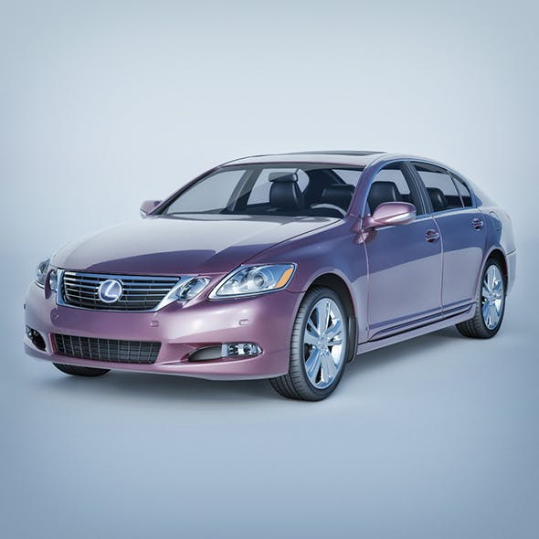 Vray Ready Lexus Gs Car