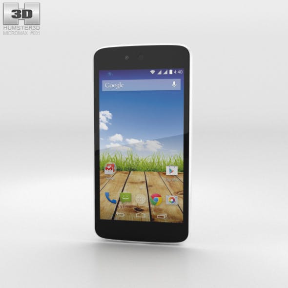 Micromax Canvas A1 Serene White