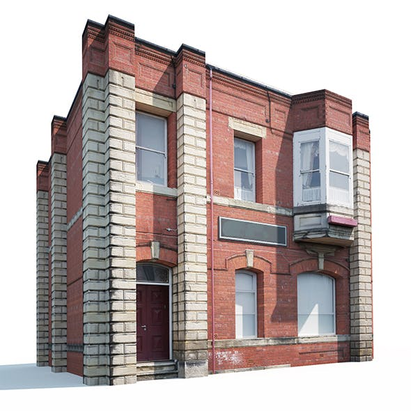 Apartment House #161 Low Poly