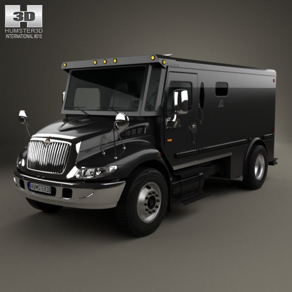International Durastar Armored Cash Truck 2002