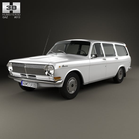 GAZ 24 Volga combi 1967
