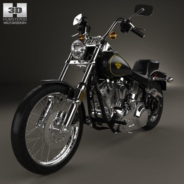 Harley-Davidson FXST Softail 1984