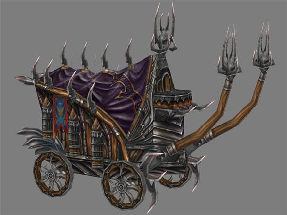 Game Model Arena - Chariot 01 - 3DOcean Item for Sale