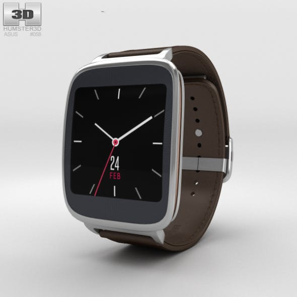 Asus ZenWatch Dark Brown