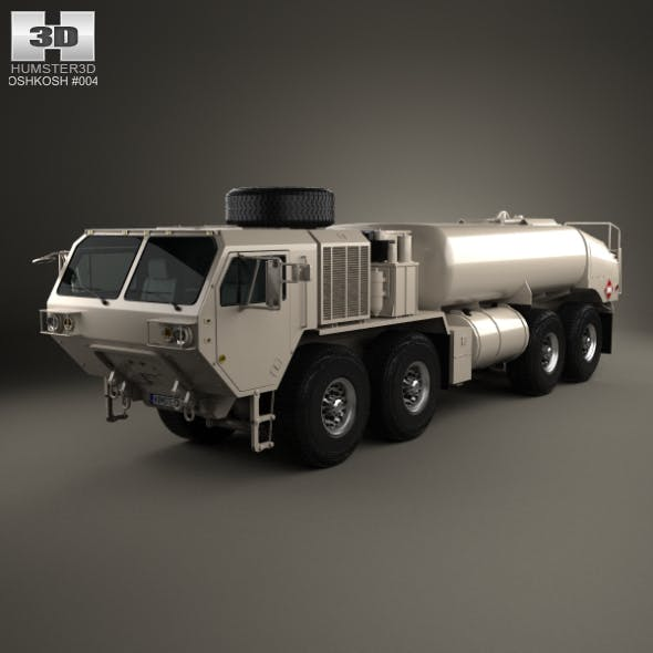 Oshkosh HEMTT M978A4 Fuel Servicing Truck 2011