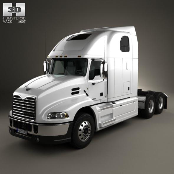Mack Pinnacle Tractor Truck 2011 - 3DOcean Item for Sale