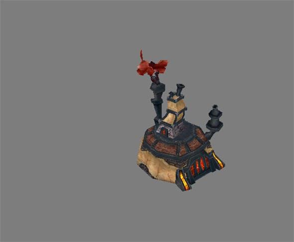 Game Model Arena - Furnaces 01 - 3DOcean Item for Sale