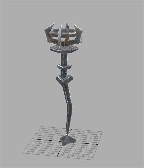 Game Model Arena - inferno lights 01 - 3DOcean Item for Sale