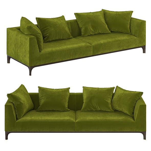 Gio ceccotti collezioni sofa - 3DOcean Item for Sale