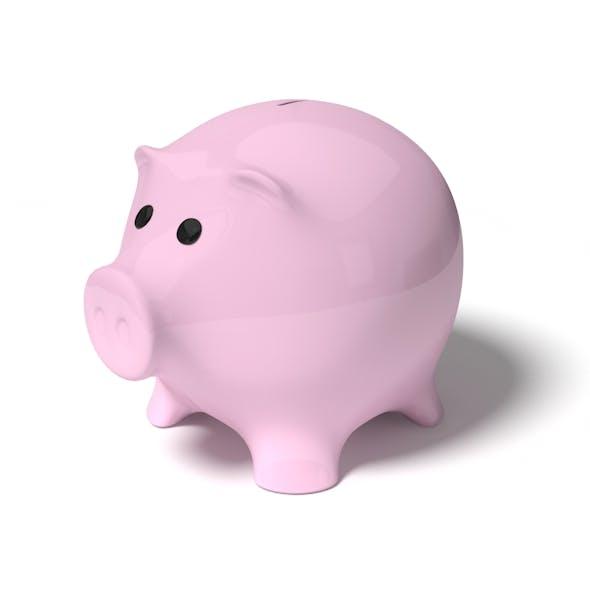 pig money box - 3DOcean Item for Sale