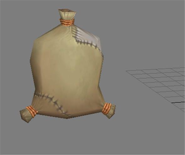 Game Model Arena - sandbags 01 - 3DOcean Item for Sale