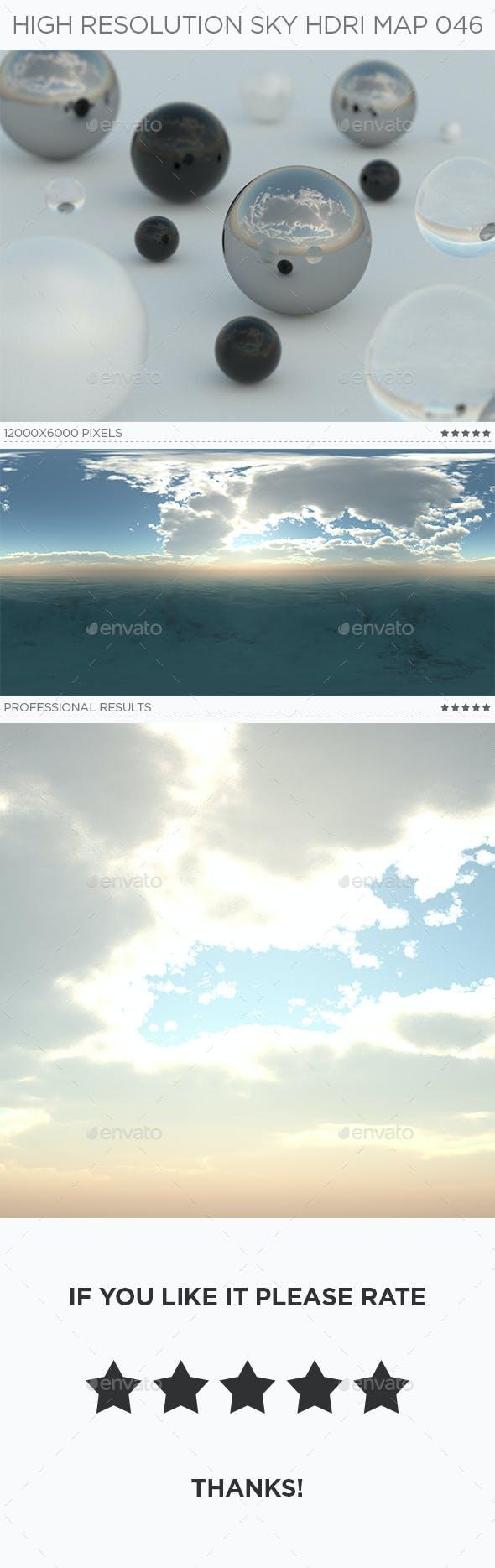 High Resolution Sky HDRi Map 046 - 3DOcean Item for Sale