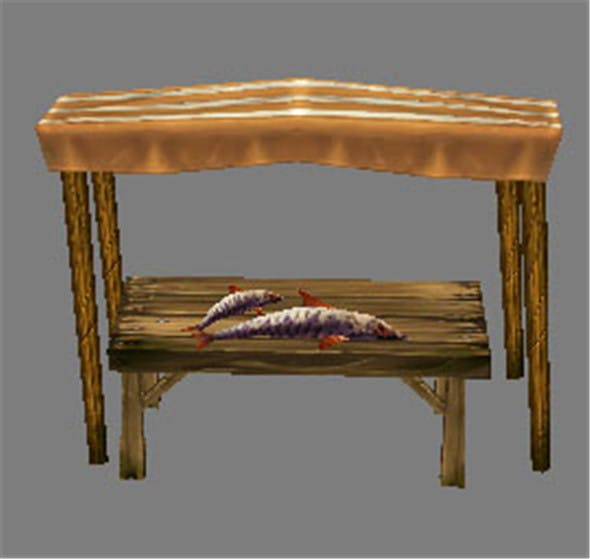 Game Model Arena - stall 002 01 - 3DOcean Item for Sale