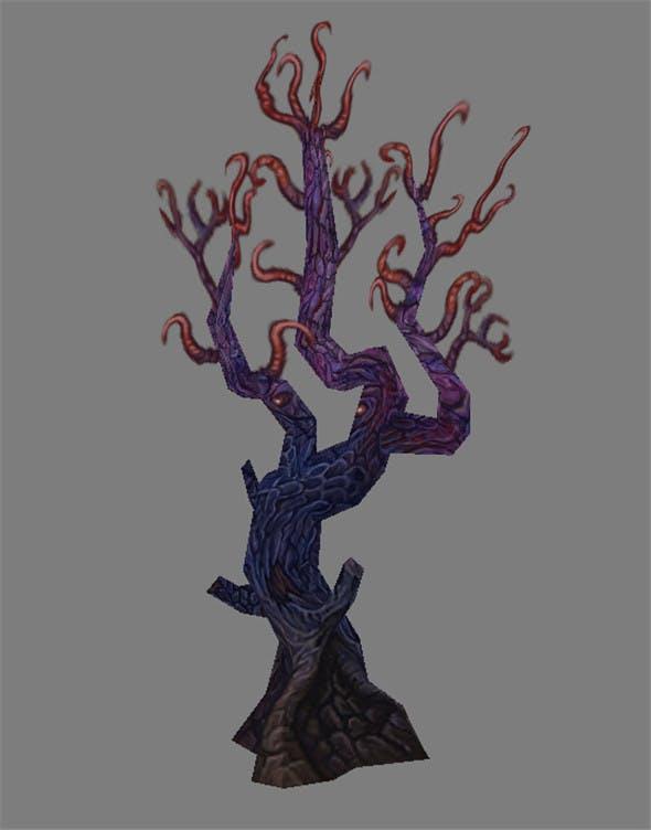 Game Model Arena - Tree 01 - 3DOcean Item for Sale