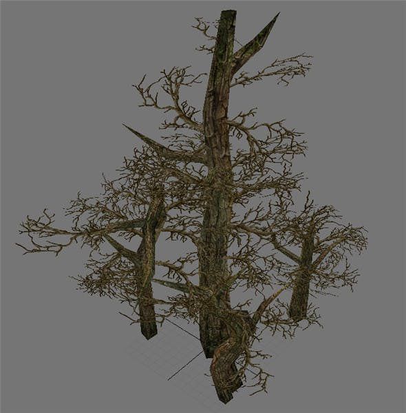 Game Model Arena - Variation grass flowers trees 09 01 - 3DOcean Item for Sale