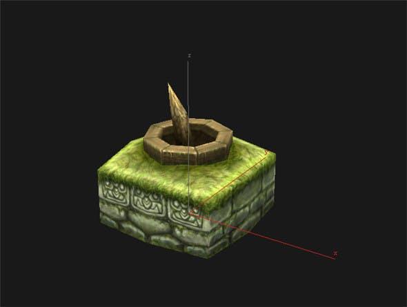 Game Model Arena - Wetland Area Ishii 01 01 - 3DOcean Item for Sale