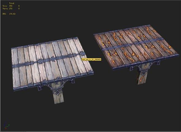 Game Model Arena - Woodbridge 01 - 3DOcean Item for Sale