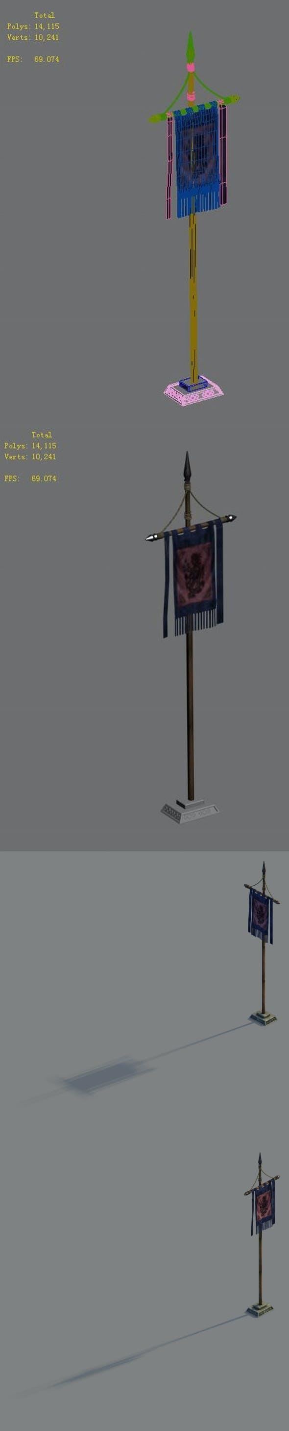 Gang - flag - 3DOcean Item for Sale