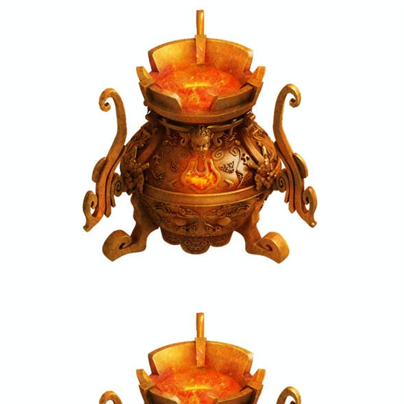 Taoist - alchemy stove