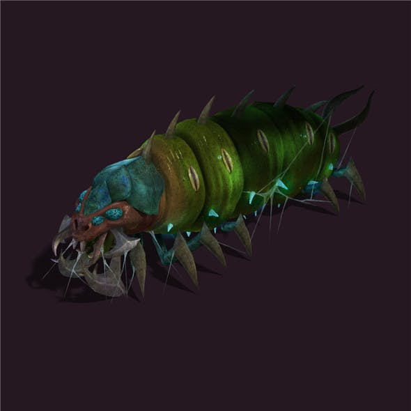 Underground city - poisonous insects