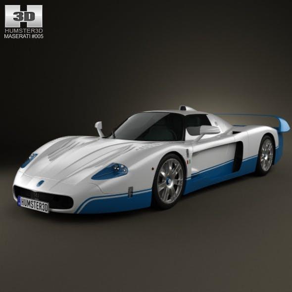 Maserati MC12 - 3DOcean Item for Sale