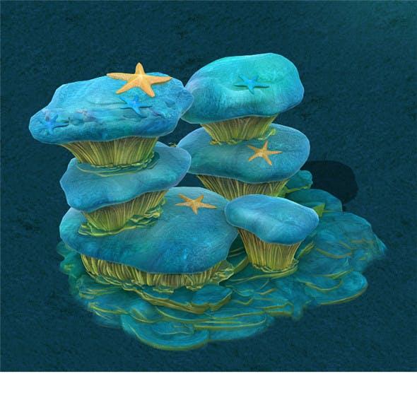 Submarine Cartoon World - Dream Xia Township Rock Wall 2