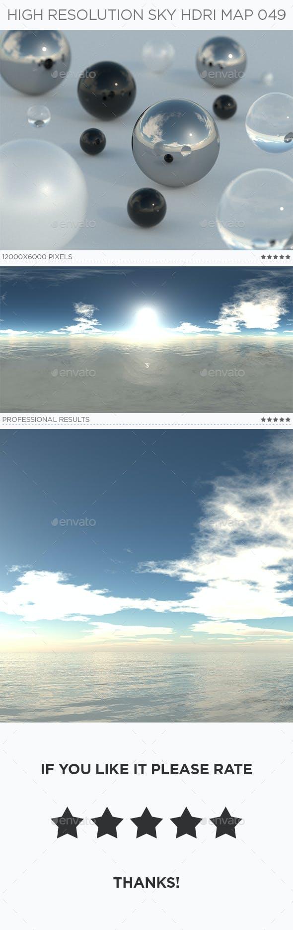 High Resolution Sky HDRi Map 049 - 3DOcean Item for Sale