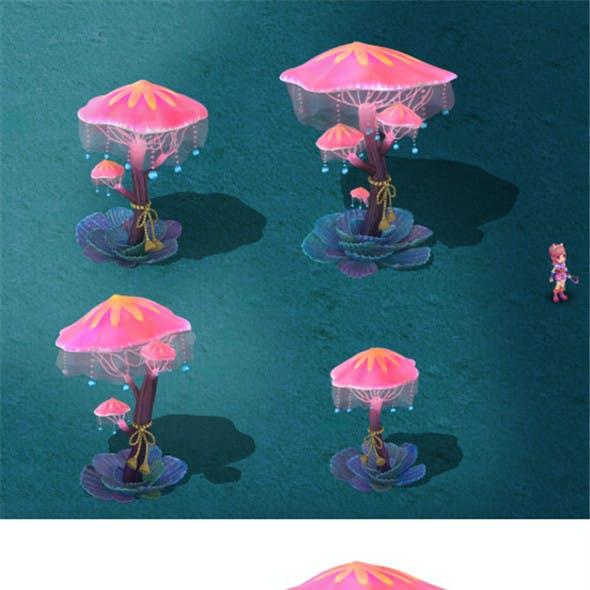 Submarine cartoon world - Diversion lights