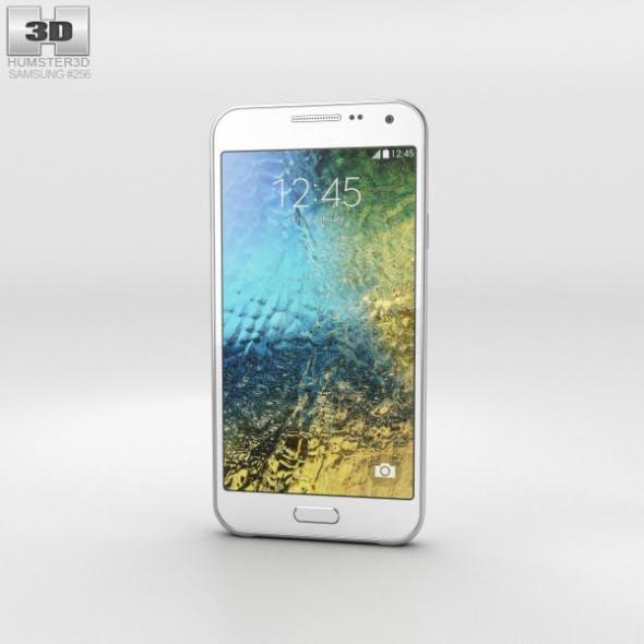 Samsung Galaxy E5 White - 3DOcean Item for Sale