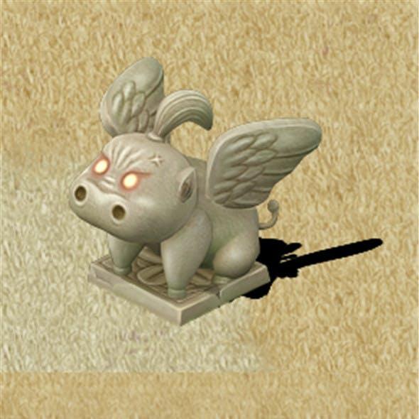Cartoon version - Fog magic Obediently beast