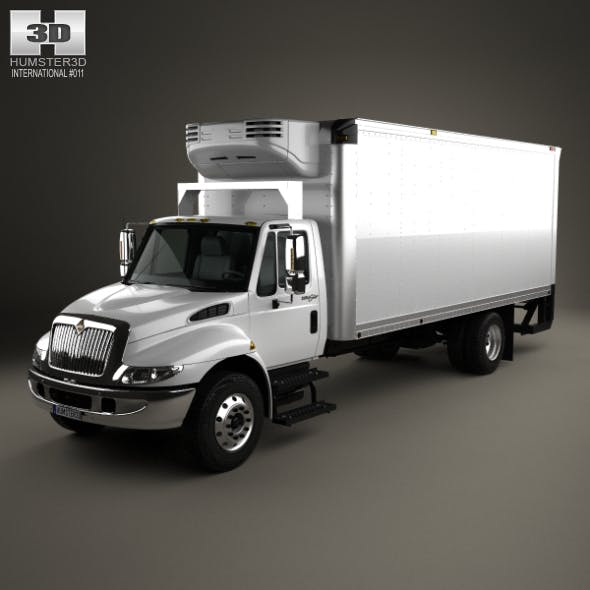 International Durastar Box Truck 2002 - 3DOcean Item for Sale
