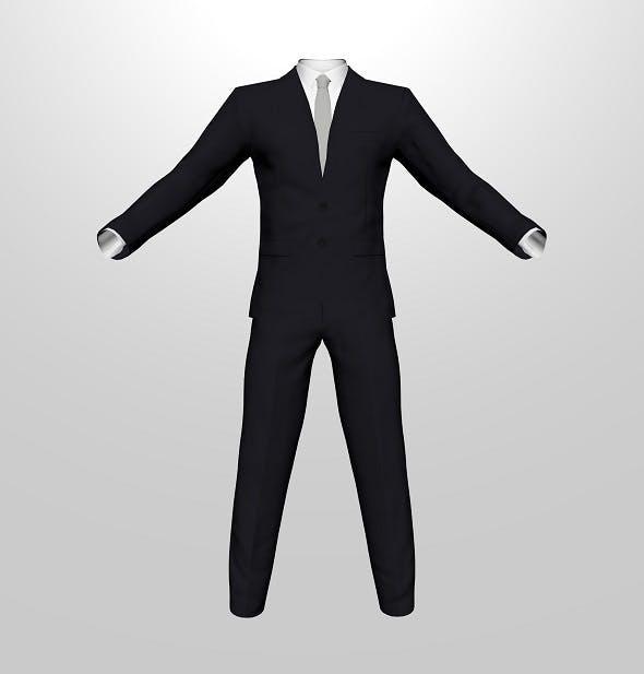 Men Suit - 3DOcean Item for Sale