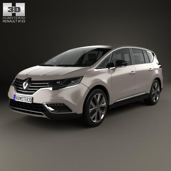 Renault Espace 2015 - 3DOcean Item for Sale