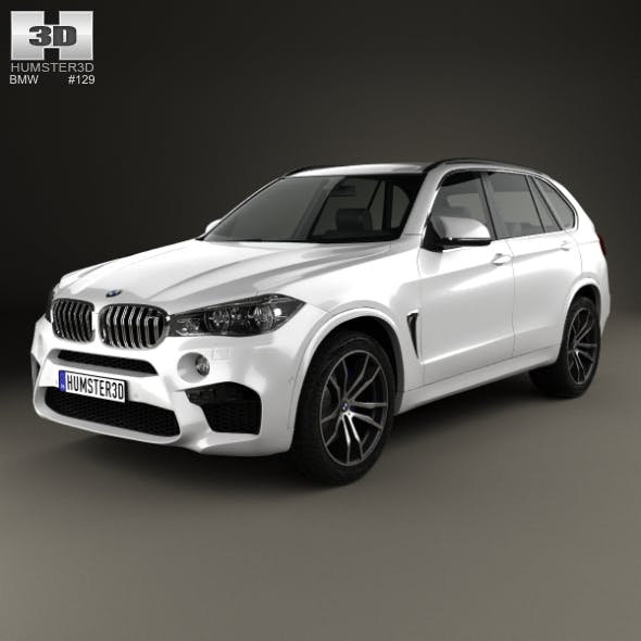 BMW X5 M (F15) 2014 - 3DOcean Item for Sale