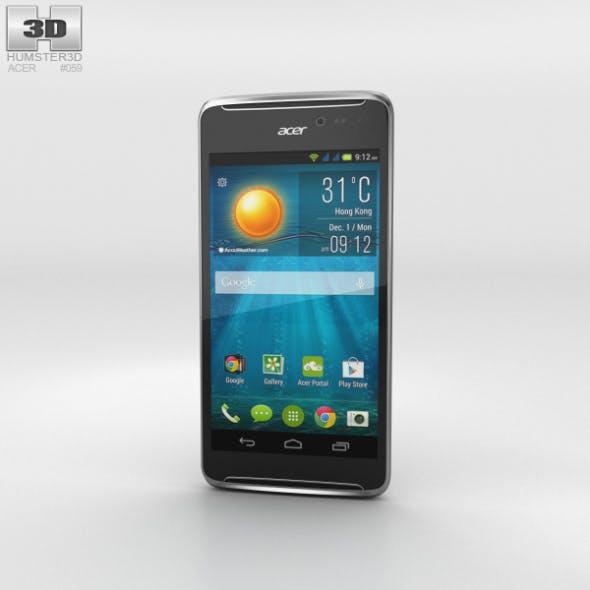 Acer Liquid E600 Black - 3DOcean Item for Sale