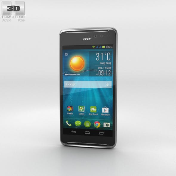 Acer Liquid E600 Black