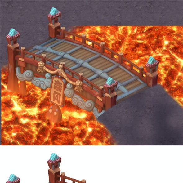Cartoon hell - no one bridge