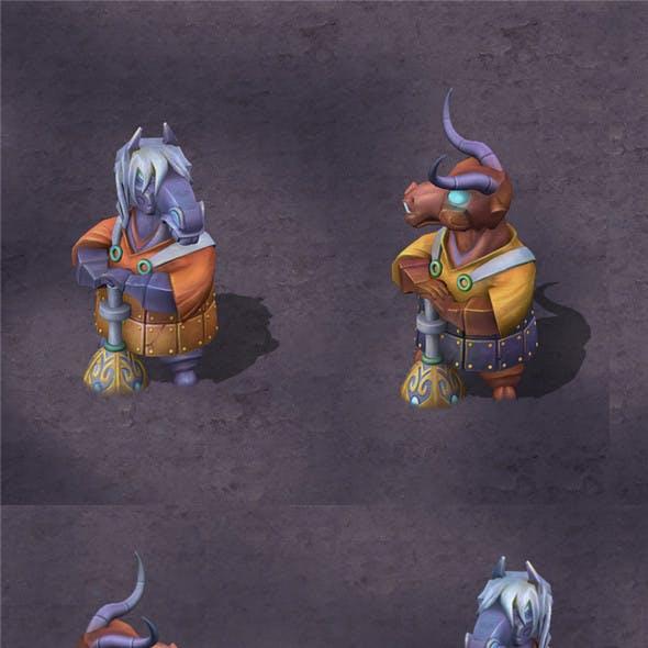 Cartoon Hell - Tau Ma Tau Town Stone Stone