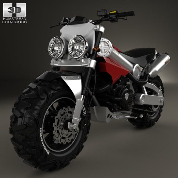 Caterham Brutus 750 2014 - 3DOcean Item for Sale