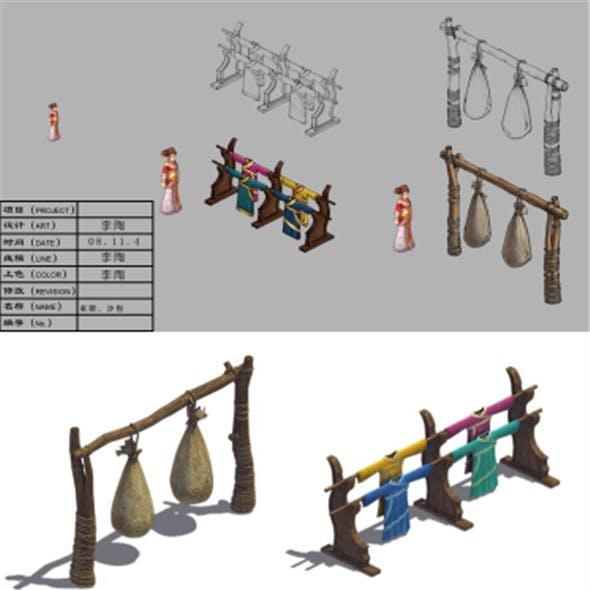 Hanger - sandbags