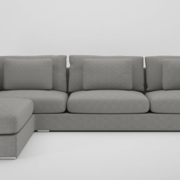 Sofa L shape.