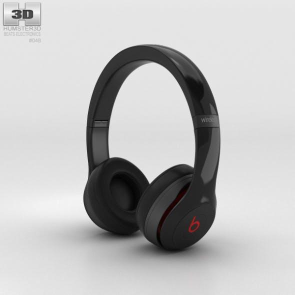 Beats by Dr. Dre Solo2 Wireless Headphones Black - 3DOcean Item for Sale