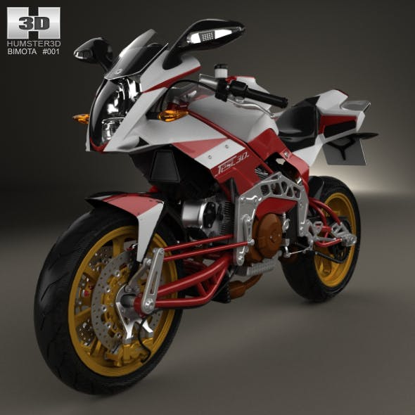 Bimota Tesi 3D 2014 - 3DOcean Item for Sale