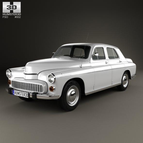 FSO Warszawa 223 1964 - 3DOcean Item for Sale