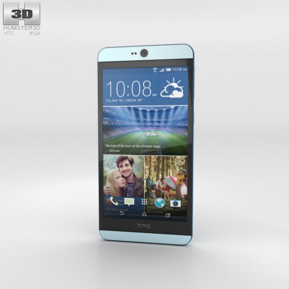 HTC Desire 826 Blue Lagoon - 3DOcean Item for Sale